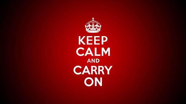 """Que Significa Keep Calm: ¿Sabes De Donde Salió El """"Keep Calm &...""""?"""