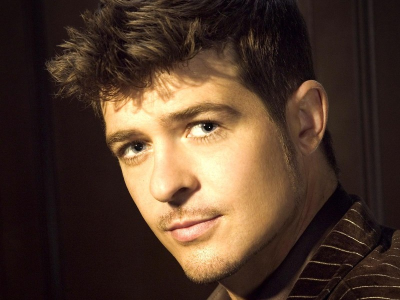 RobinThicke Photo Credit: Interscope Records/Kiino Villand