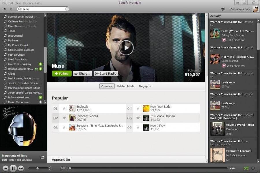 Spotify-Muse