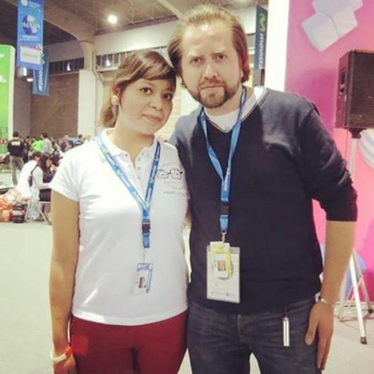 Con Sorlak en Campus Party.