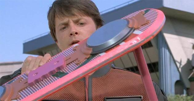 Gadgets que todos queremos Back to the future hoverboard
