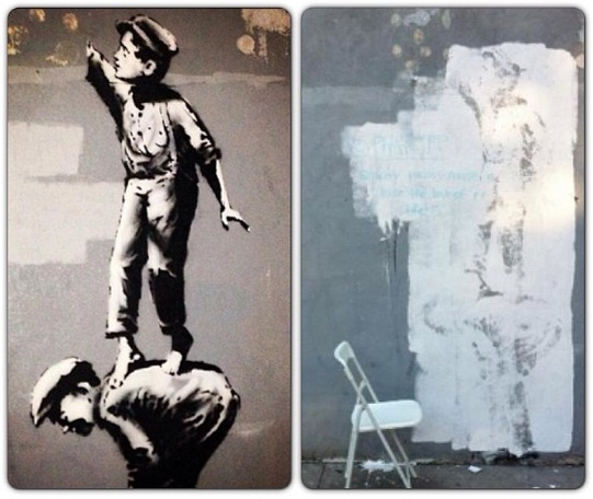 1octubre-Banksy-Better-Out-Than-In-Intervenida 2