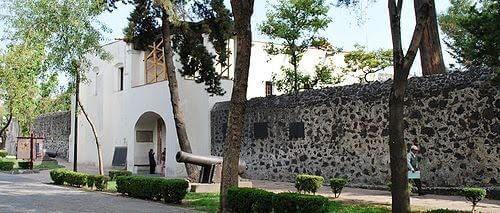 Ex-convento-de-Churubusco-hoy-sede-del-Museo-Nacional-de-las-Intervenciones