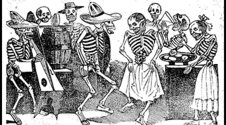 La catrina mexicana historia