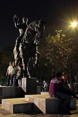Estatua de Francisco I Madero en ciudad de México
