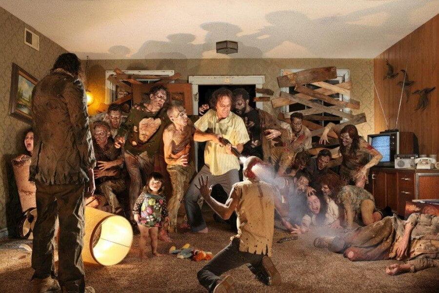Quién es Joshua Hoffine fotos de terror