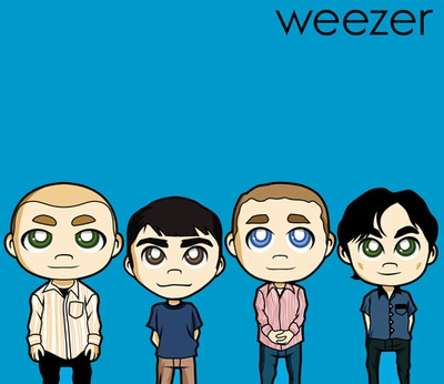 commission_weezer___the_blue_album_by_animepapertoys-d4ldtni