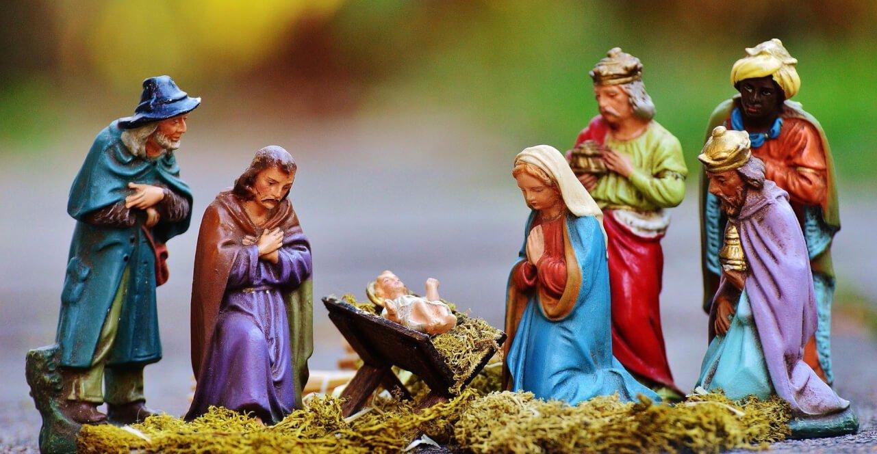 poner el nacimiento navideño