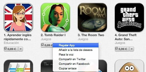 regalar-app-itunes-store