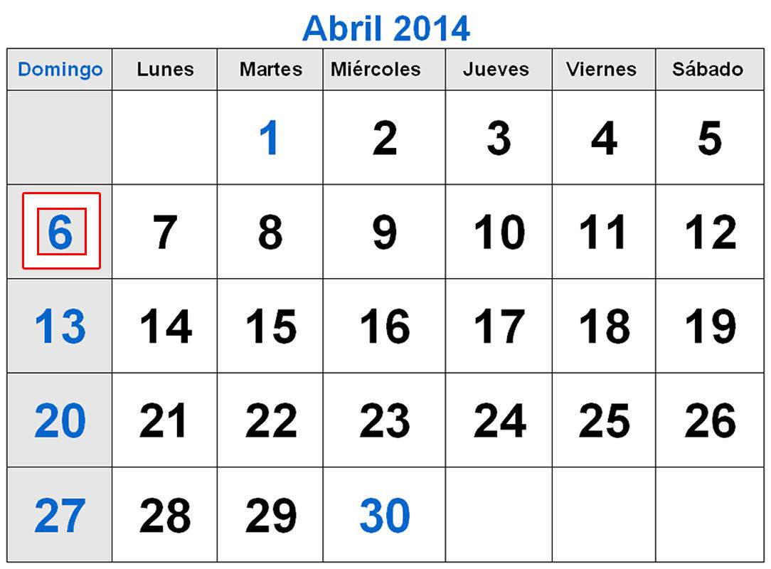 2014-abril-calendario