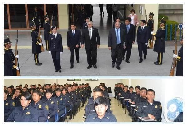 Miguel Toruco y 1ra Generación de la Policia Turística