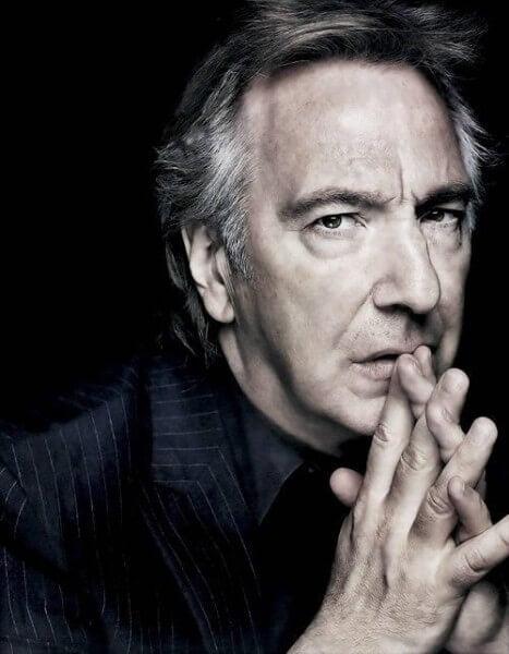 """Alan """"Snape"""" Rickman"""