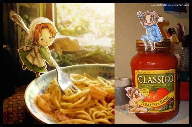 pasta y salsa
