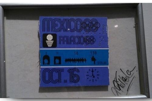 Boleto de México 68