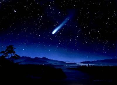 Poesía a estrella fugaz