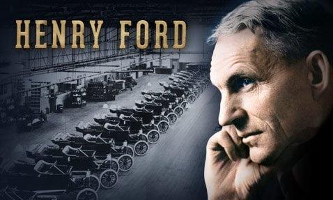 Henry ford motor v8