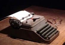maquina-de-escribir antigua