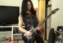 Solo de guitarra heavy metal peligroso