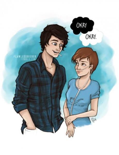 Gus y Hazel