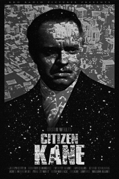 Charles Foster Kane, protagonizada por Orson Welles.