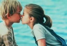 ¿Cómo es el primer beso?