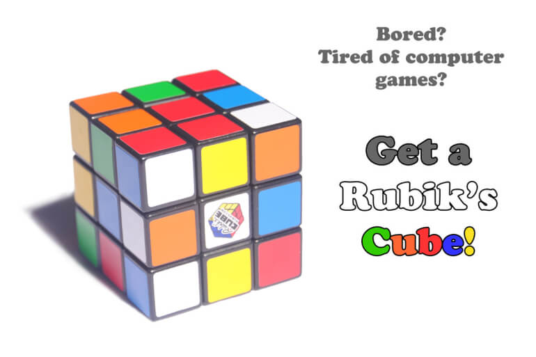 Cubo de Rubik, el Original