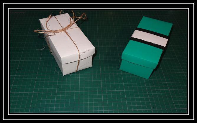 DIY (Hágalo usted mismo) una Caja para Regalo !