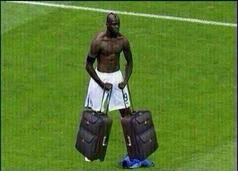 Bye, Italia; Balotelli listo para irse