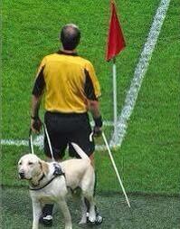 Éxito total para el primer abanderado ciego #RespectFIFA