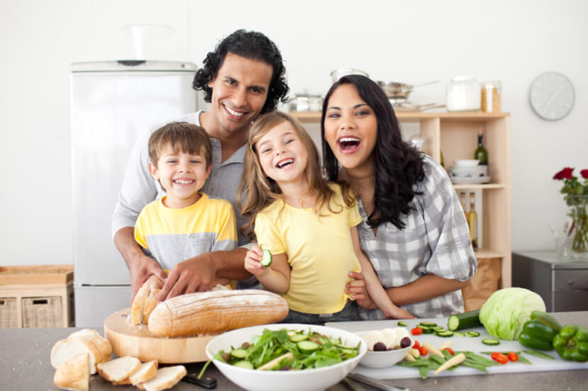 Alimentación sana es igual a un cuerpo perfecto