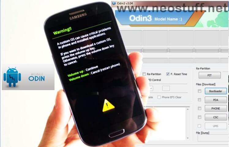 Descarga gratis odin para Samsung galaxy
