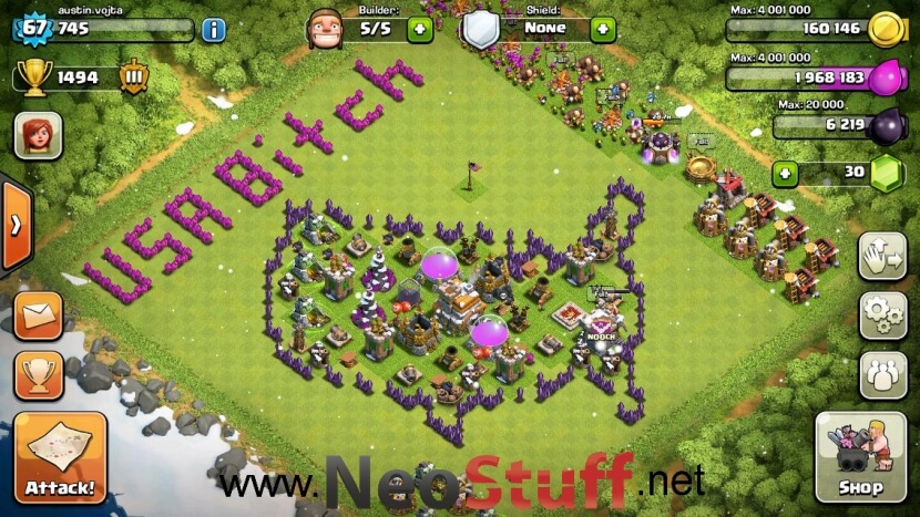 Usa bitch clash of clans funny