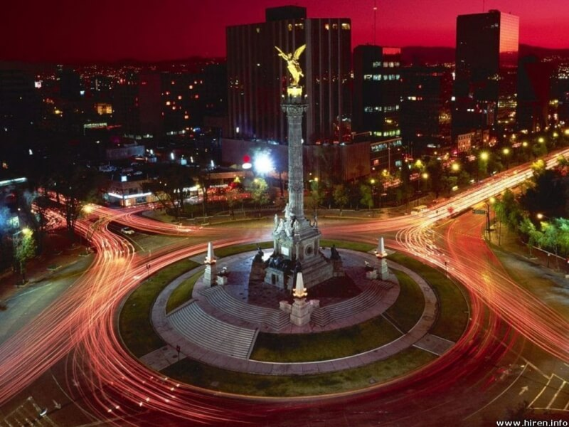mexico 7 Wonders Cities