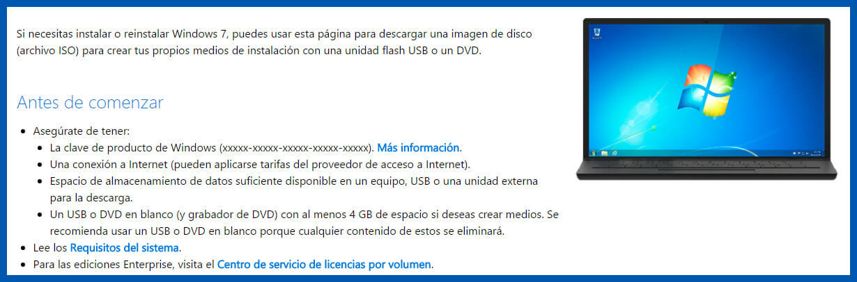 descargar windows 7 msdn oficial