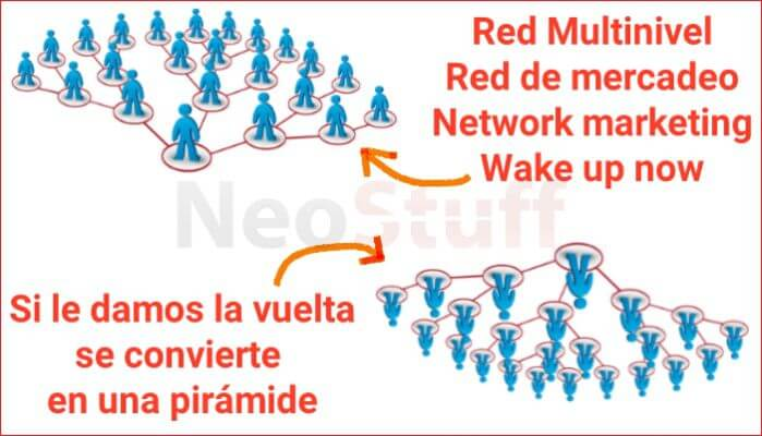network marketing vs piramide vs red de mercadeo