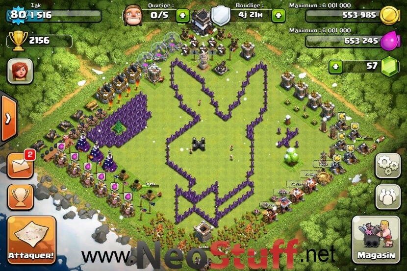 playboy bunny clash of clans funny base