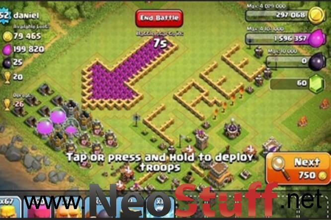 recursos gratis clash of clans