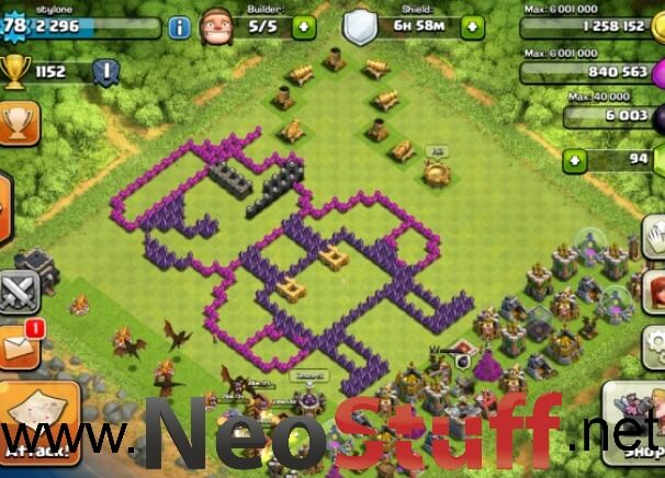 super mario clash of clans