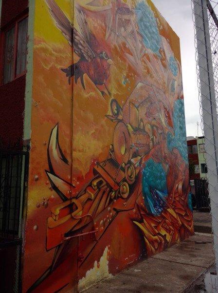 graffiti queretaro pared