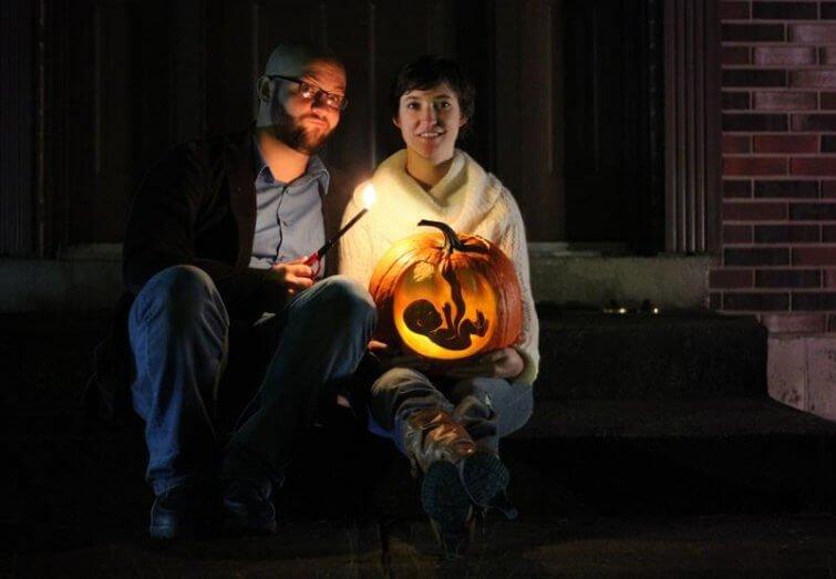 que miedo en hallowen bebe nuevo