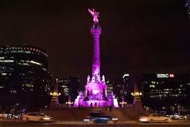 Mexico df angel de la independencia de rosa