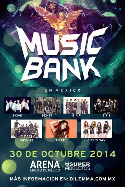Cartel Music Bank in México