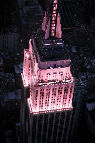 Empire state rosado