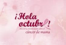 19 Octubre lucha contra cáncer de mama
