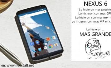 Nexus 6 2014 motorola big screen