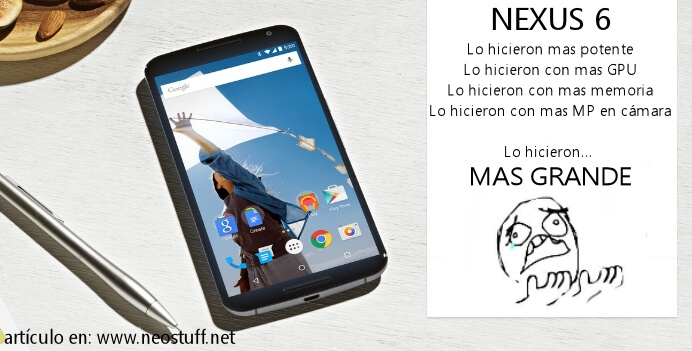 Nexus 6 2014 motorola big screen