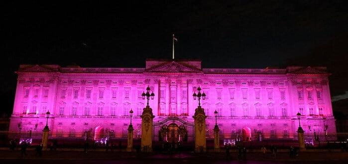 Palacio de Buckingham rosa