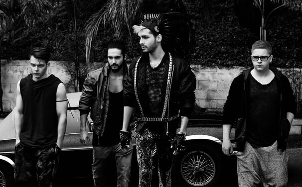 Tokio hotel de regreso kings of suburbia 2014