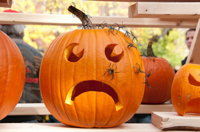 Ideas para adornar calabaza en halloween neostuff - Disenos de calabazas de halloween ...