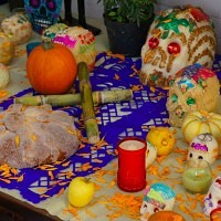 altar de muertos mexicano